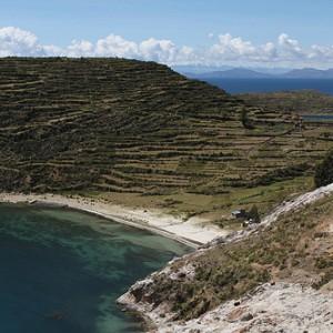 Santuario del Sol en el lago Titicaca