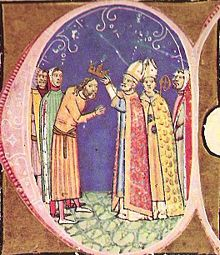 Coronación de Coloman de Hungría