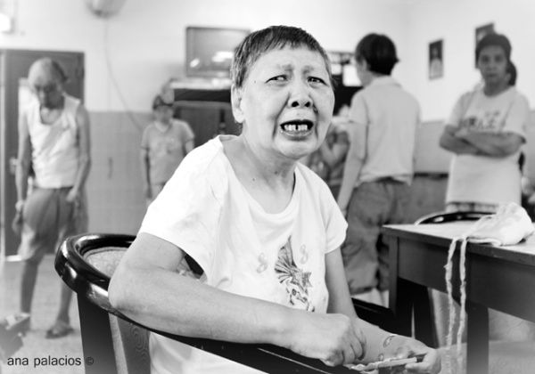 Paciente con llanto crónico, en el psiquiátrico de Macao