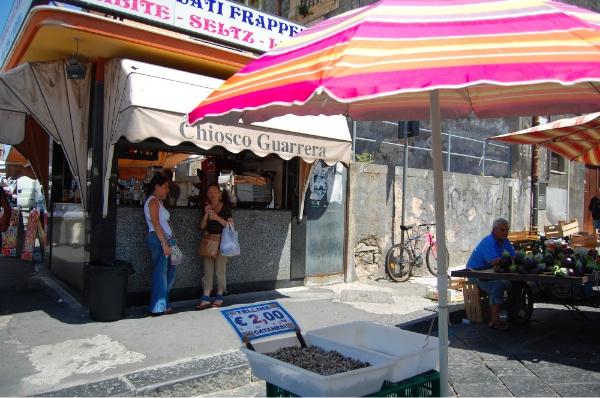 El kiosko Guarrera