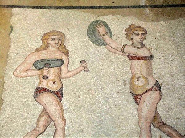 Mosaico de la Villa Romana de Casale