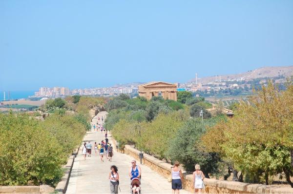 Vista de Valle de los Templos