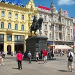 La estatua de Josip Jelačić