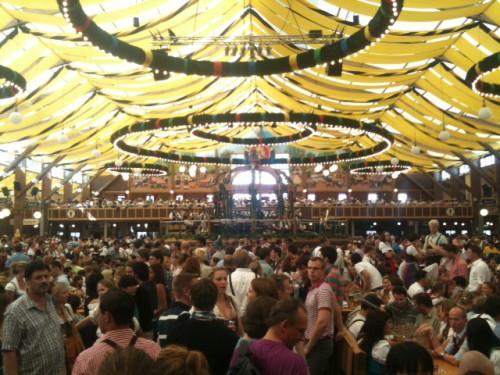 Carpa de Paulaner de la Oktoberfest