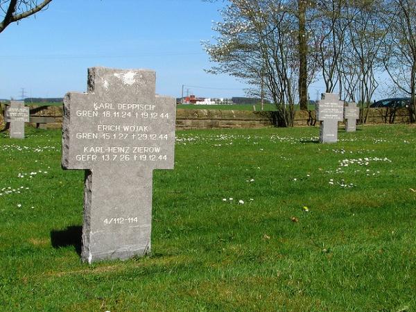 Cementerio alemán en Recogne