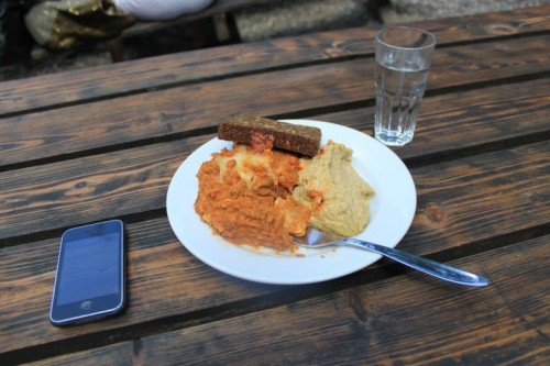 Comiendo en Christiania
