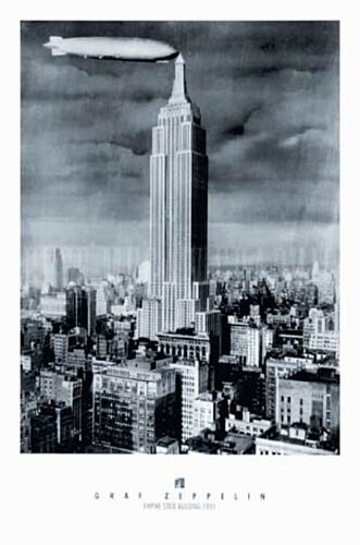 El Empire State Building con zeppelins @Flickr