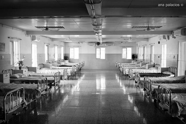 Habitaciones del psiquiátrico Santa Lucia en Macao