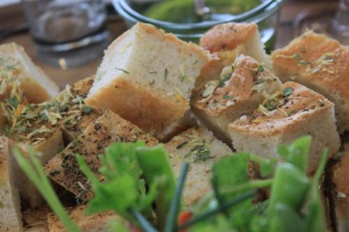 El pan del restaurante Toldboden