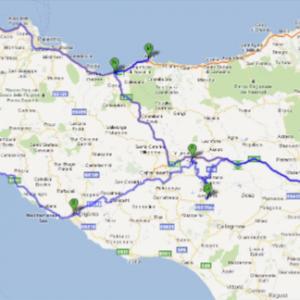 Ruta por Sicilia (click para ampliar)