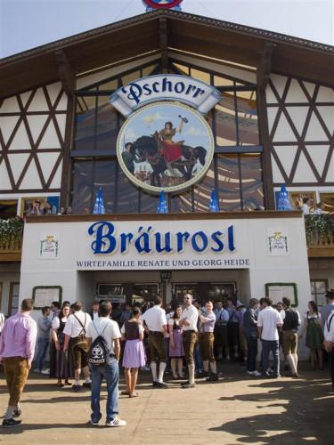 Entrada de Bräurosl