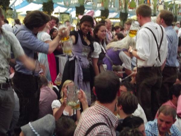 Fiesta en el Oktoberfest