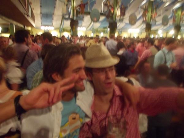 Manuel de fiesta en el Oktoberfest
