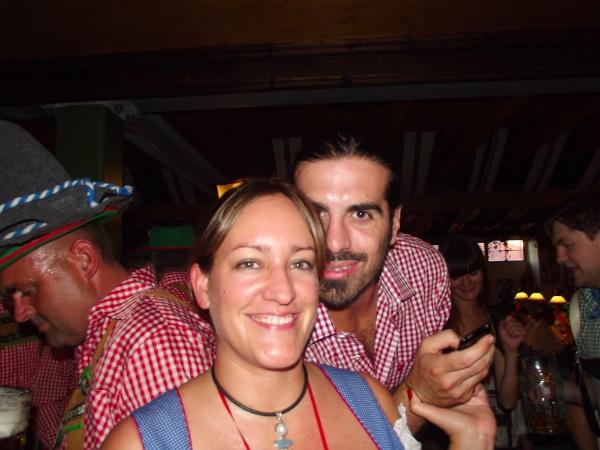 Marc y Marta en el Oktoberfest