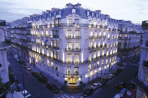 Hoteles de lujo la tr moille par s 3viajes for Fachadas de hoteles de lujo
