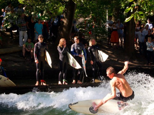 Surfero en Munich