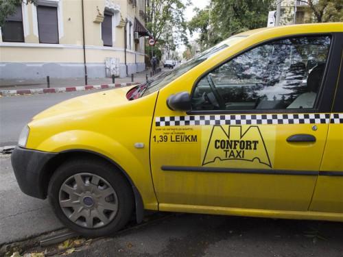 Taxi en Bucarest