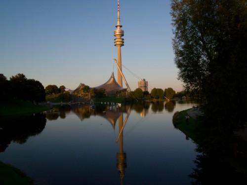 Torre de comunicaciones del Olympiapark de Munich