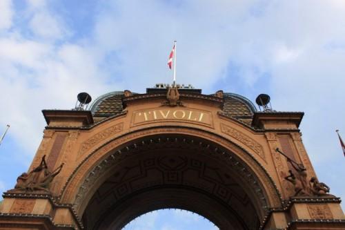 Entrada del Tivoli de Copenhagen