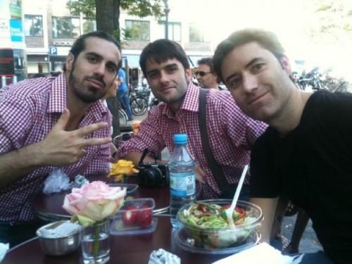 Marc, Txemi y Manuel son el equipo masculino de 3viajes al completo