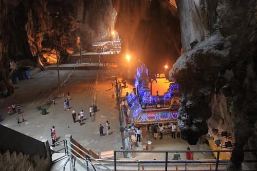 Templos en el interior de las Batu Caves