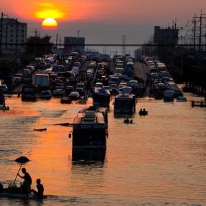 Fotos de las inundaciones en Tailandia