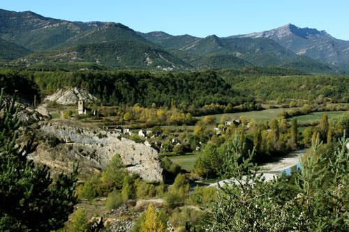 Jánovas en el Valle del Ara (Huesca)
