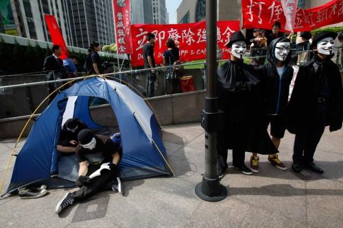 Protestas de Hong Kong 15O