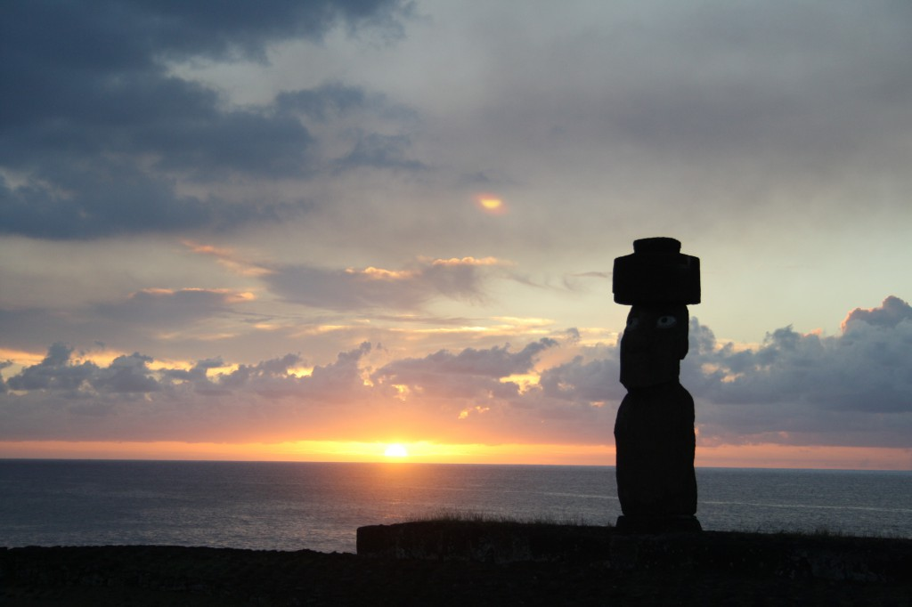 Puesta de sol, Rapa Nui @Femunstop
