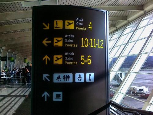 Cartel de Aeropuerto
