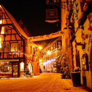 Recuerdos navideños de Alsacia