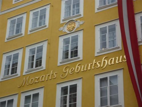 Casa donde nació Mozart en Salzburgo