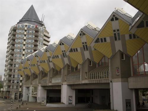 Casas Cúbicas de Rotterdam (2)