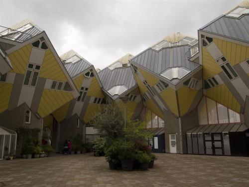 Casas Cúbicas de Rotterdam (1)