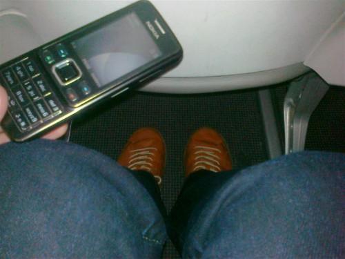 "Espacio ""business class"" entre asientos en Vueling"