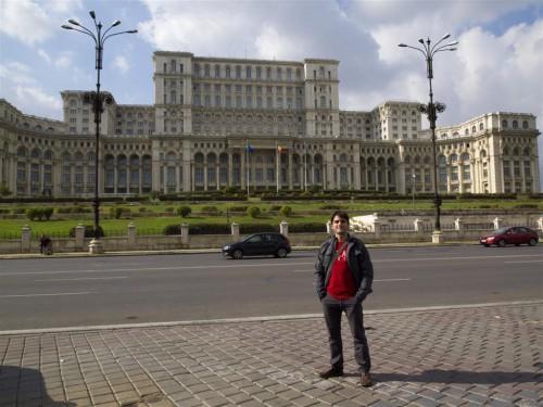 Parlamento de Rumania en Bucarest