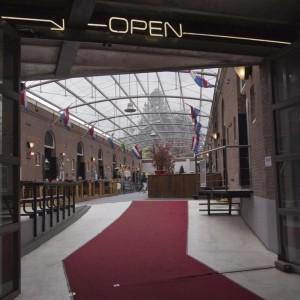 Tomando un respiro en Westelijk Handelsterrein (Rotterdam)