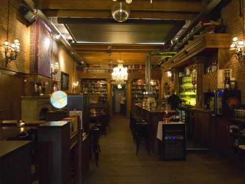 Restaurante-Cafe Biblio en Westelijk Handelsterrein