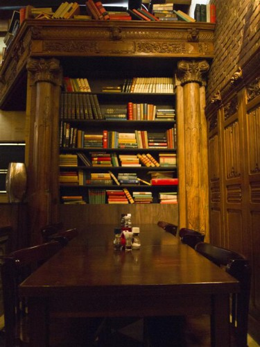 Rincón del Restaurante-Cafe Biblio en Westelijk Handelsterrein