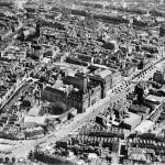 Calle Coolsingel con el ayuntamiento (el antes)