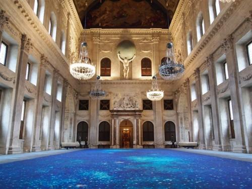 Sala Burgenzaal del Palacio Real de Amsterdam