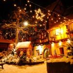 Navidad en Eguisheim, Alsacia