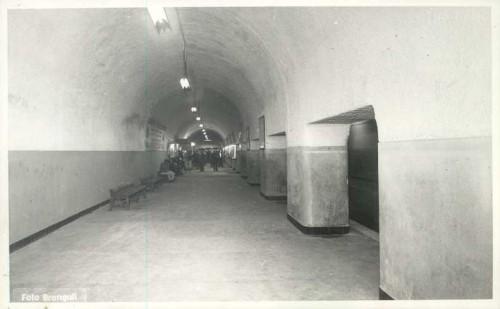 Estación Correos de Barcelona en 1955