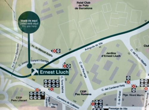 Actual estación de tranvía Ernest Lluch