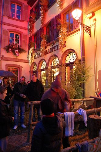 Mercado medieval en Ribeauville