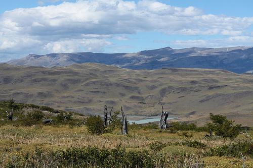 Paisaje patagónico en el Parque Nacional Torres del Paine @3viajes