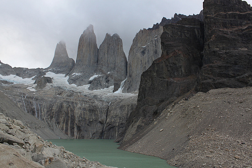 Frente a las Torres del Paine @3viajes