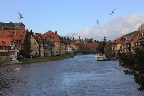 Vistas de Bamberg en Alemania