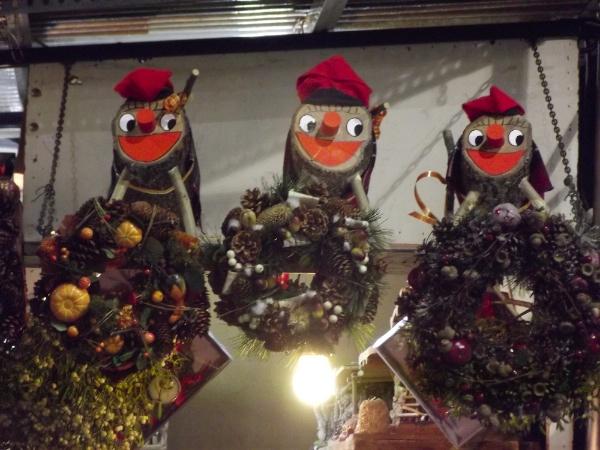Tiós de Nadal en la Fira de Santa Llucia de Barcelona