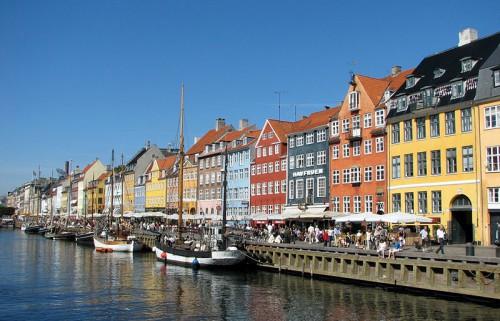 Canal Nyhavn de Copenhagen